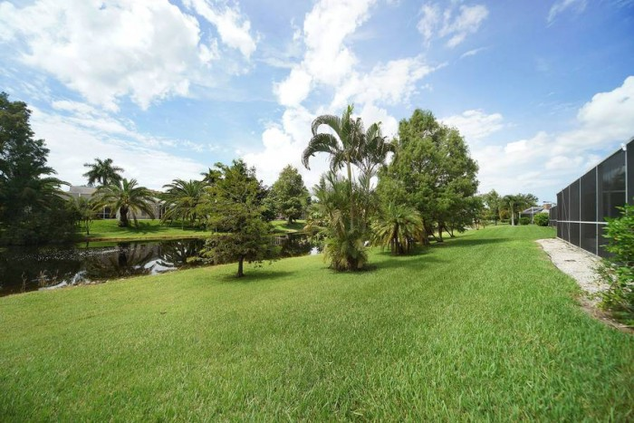 Villa Rose Garden backyard - Cape Coral Vacation Rental