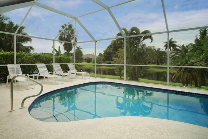 Villa Rose Garden Pool View Cape Coral