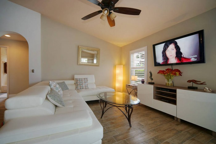 Villa Rose Garden living room - Cape Coral Vacation Rental