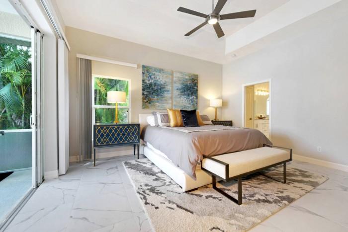Villa Dolphin Master Bedroom View Cape Coral