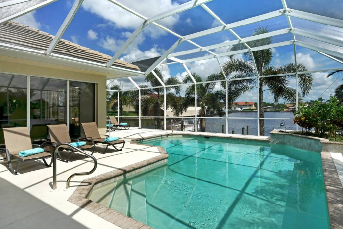 Villa Dolphin Pool View Area Cape Coral