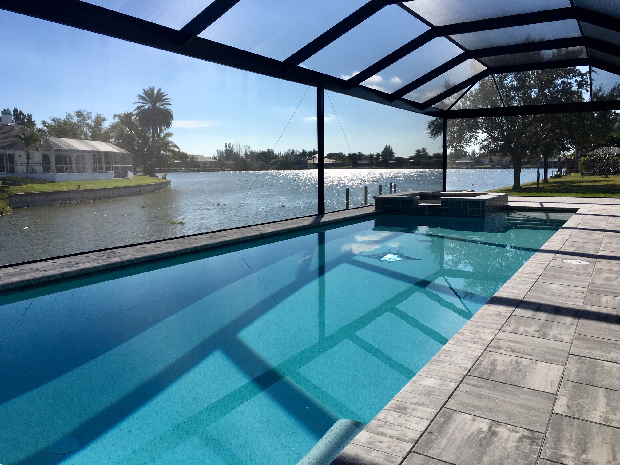 New Construction Pool Cape Coral